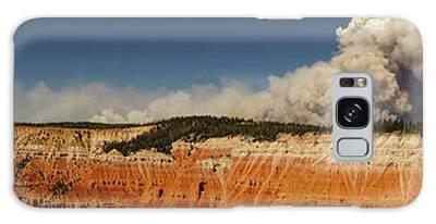 Wildfire Cedar Breaks National Monument Utah Galaxy Case