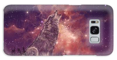 Outer Space Digital Art Galaxy Cases