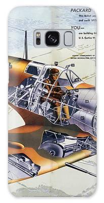 World War 2 - Spitfire Galaxy Case by Ericamaxine Price