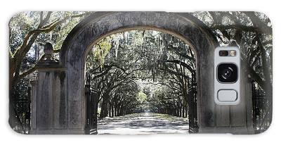Wormsloe Plantation Gate Galaxy Case