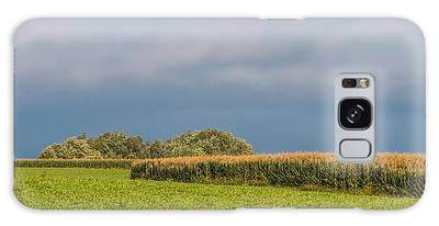 Galaxy Case featuring the photograph Farmer's Field by Patti Deters