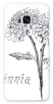 Zannie Zinnia Galaxy Case