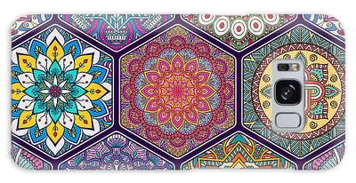 Henna Galaxy Cases