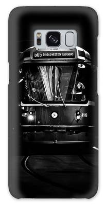 Galaxy Case featuring the photograph The 505 Dundas Streetcar Toronto Canada by Brian Carson