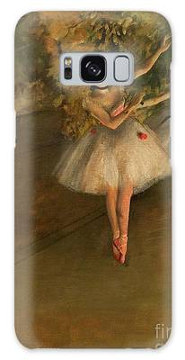 Two Dancers On A Stage Galaxy Case