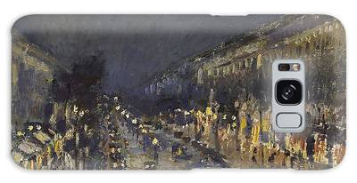 The Boulevard Montmartre At Night Galaxy Case