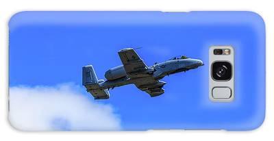A-10c Thunderbolt II In Flight Galaxy Case