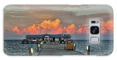 Anna Maria City Pier Galaxy Case