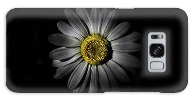 Galaxy Case featuring the photograph Backyard Flowers 52 Color Version by Brian Carson