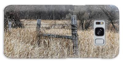 Barbed Wire Fence Galaxy Case