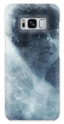 Beauty In The Snow Galaxy Case