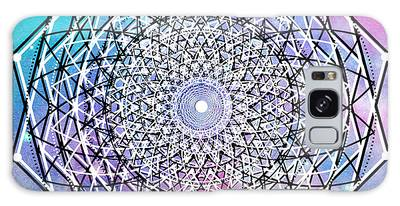 Galaxy Case featuring the digital art Big Bang by Bee-Bee Deigner