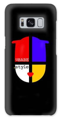 Black Style Galaxy Case