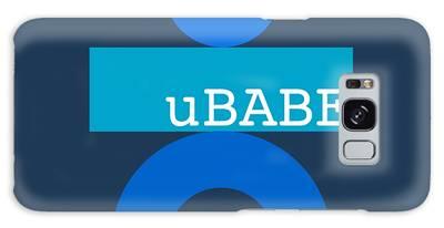 Blue Babe Galaxy Case