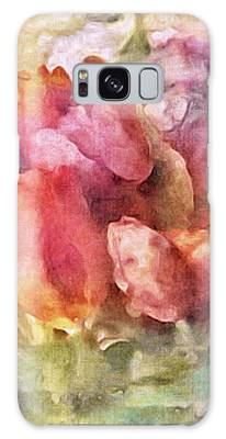 Galaxy Case featuring the mixed media Captured Spring by Susan Maxwell Schmidt