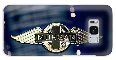 Classic Morgan Name Plate Galaxy Case