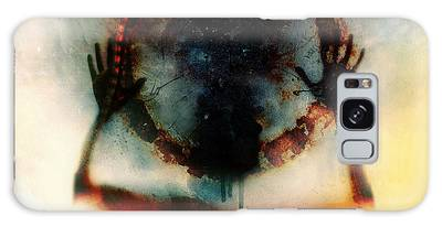 Thought Digital Art Galaxy Cases