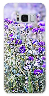 Cornflower Meadow Galaxy Case by Susan Maxwell Schmidt