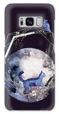 Galaxy Case featuring the digital art Cosmic Portal by Bee-Bee Deigner