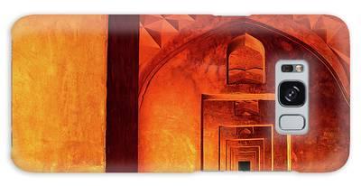 Doors Of India - Taj Mahal Galaxy Case