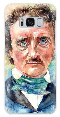 Edgar Allan Poe Galaxy Cases