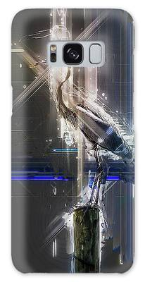 Electric Heron Galaxy Case