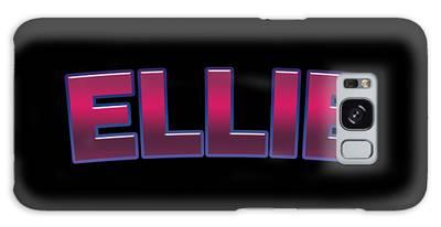 Ellie #ellie Galaxy Case