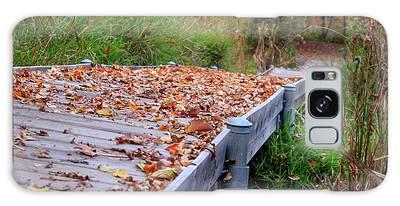 Fall Boardwalk Galaxy Case