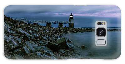 First Light - Marshall Point Panorama Galaxy Case