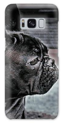 Frenchie Galaxy Case by Susan Maxwell Schmidt