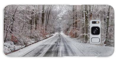 Frozen Road Galaxy Case