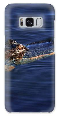 Gator And Snake Galaxy Case by Tom Claud