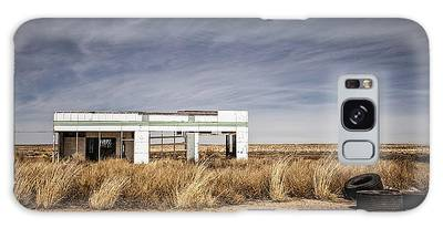 Glenrio Abandoned Gas Station  Galaxy Case