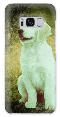 Golden Retriever Puppy - Painting Galaxy Case by Ericamaxine Price