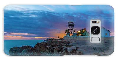 Galaxy Case featuring the photograph House Of Refuge Morning by Tom Claud