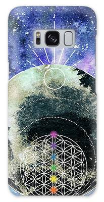 Galaxy Case featuring the digital art I Am by Bee-Bee Deigner