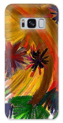 Galaxy Case featuring the pastel Improvisation #74 by Bee-Bee Deigner