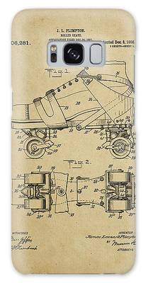J. L. Plimpton, Roller Skate, Patented Dec.8,1908. Galaxy Case