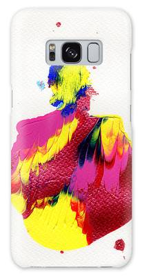 Galaxy Case featuring the painting Lady Dressed In A Ballroom Gown by Bee-Bee Deigner