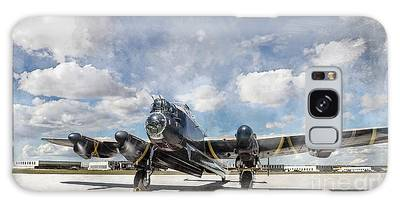 Galaxy Case featuring the photograph Lancaster Engine Test 2 by Brad Allen Fine Art