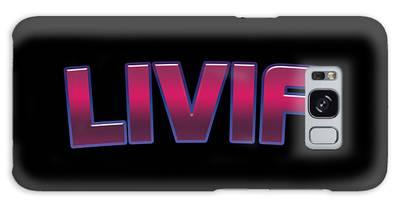 Livia #livia Galaxy Case