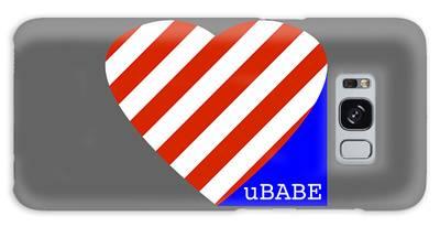 Love Ubabe America Galaxy Case