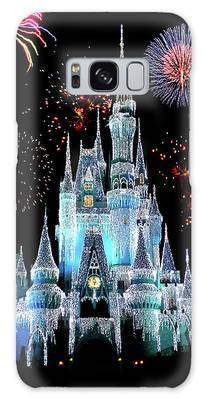 Town Square Photographs Galaxy Cases