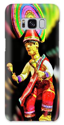 Mayan Dancer Galaxy Case