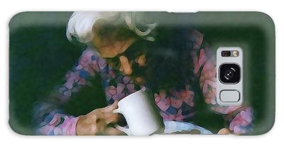 Galaxy Case featuring the photograph Memories Of Mama by Cynthia Guinn