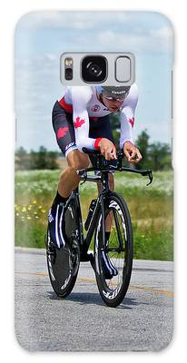 Mens Individual Time Trial No 1 Galaxy Case by Brian Carson