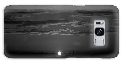 Galaxy Case featuring the photograph Monochrome Sunrise by Bee-Bee Deigner