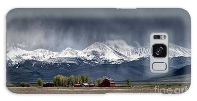 Galaxy Case featuring the photograph Montana Homestead by Brad Allen Fine Art