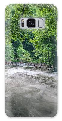 Mountain Stream In Summer #1 Galaxy Case by Tom Claud