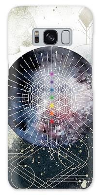 Galaxy Case featuring the digital art Namaste by Bee-Bee Deigner